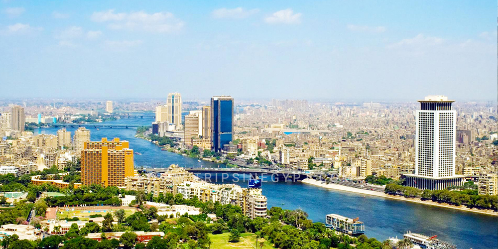 View from Cairo Tower - 25 Things to Do in Cairo - Trips in Egypt