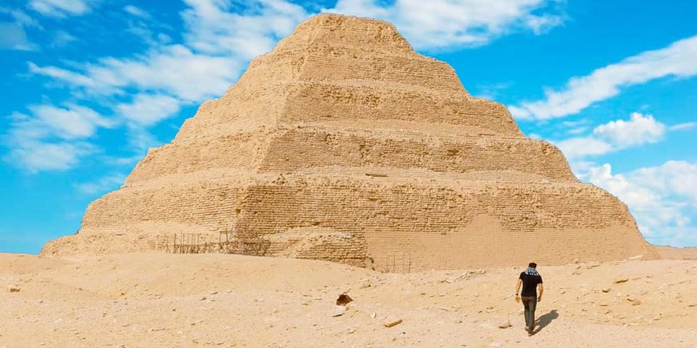Saqqara Step Pyramid - 6 Days Cairo and Hurghada Holiday - Trips in Egypt