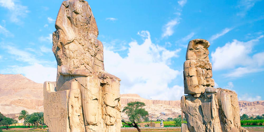 Colossi of Memnon - Discover Egypt As A Holiday Destination - Trips in Egypt