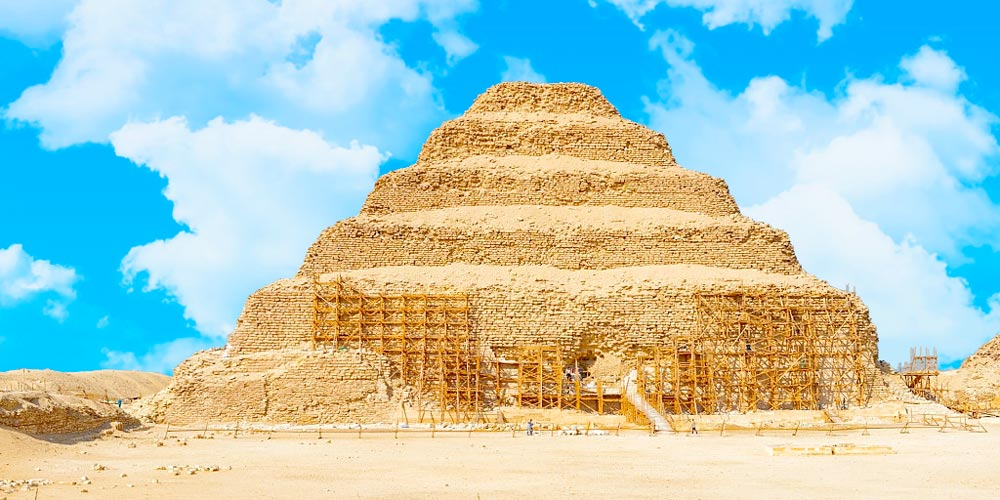 Saqqara Step Pyramid - Discover Egypt As A Holiday Destination - Trips in Egypt
