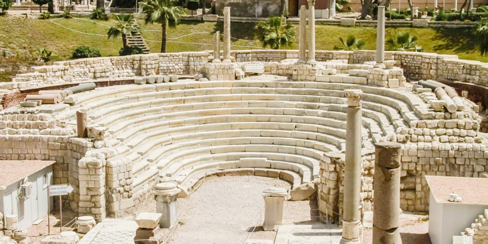 The Roman Amphitheatre Alexandria - Discover Egypt As A Holiday Destination - Trips in Egypt