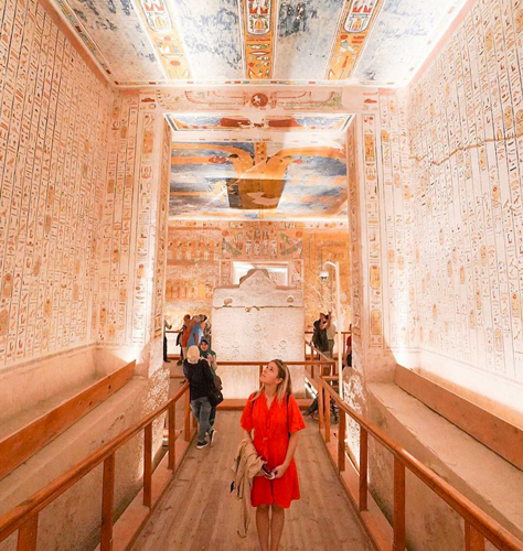 Egyptian Tombs - Egypt Tourist Attractions - Trips in Egypt