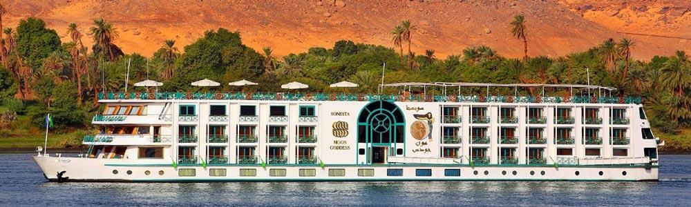 4 Days Sonesta Moon Goddess Nile Cruise From Aswan To Luxor - Trips in Egypt