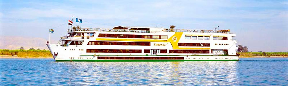 4 Days Sonesta Nile Goddess Nile Cruise From Aswan To Luxor - Trips in Egypt