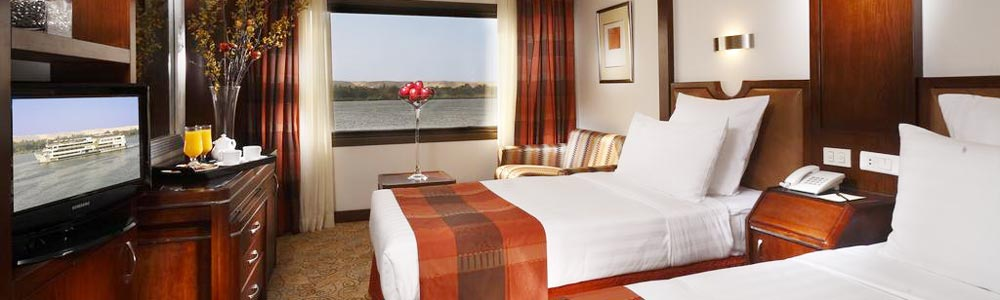 5 Days Sonesta Nile Goddess Nile Cruise From Luxor to Aswan - Trips in Egypt