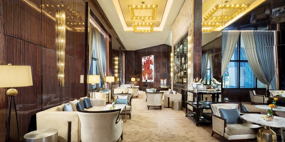 Bar of Fairmont Nile - Trips in Egypt