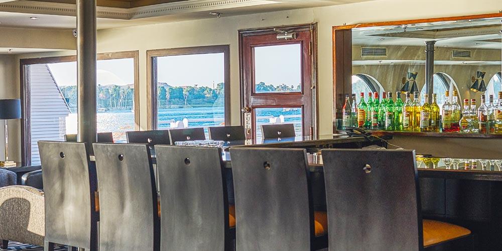 Bar of Mövenpick MS Sun Ray Nile Cruise - Trips in Egypt