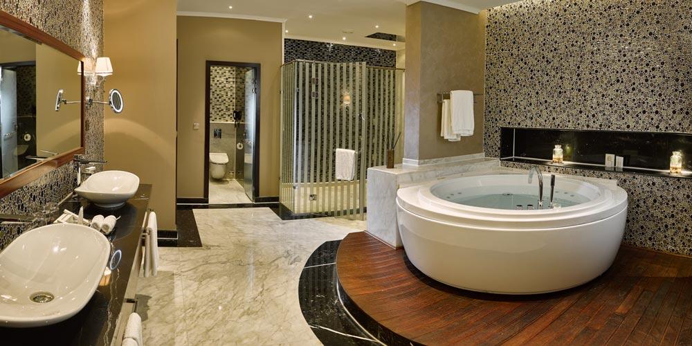 Bathroom of Kempinski Cairo - Trips in Egypt