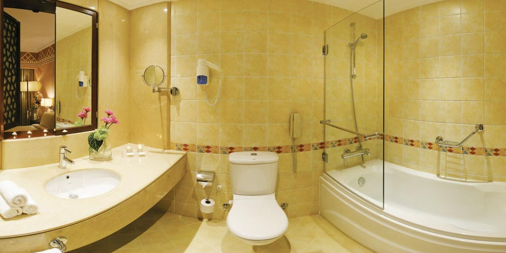 Bathroom of Movenpick Aswan - Trips in Egypt