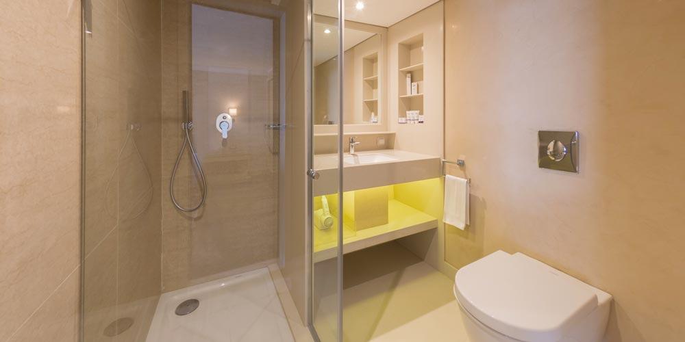 Bathroom of Steigenberger Regency Nile Cruise - Trips in Egypt