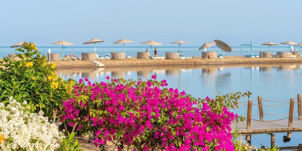 Beach of Movenpick El Gouna - Trips in Egypt