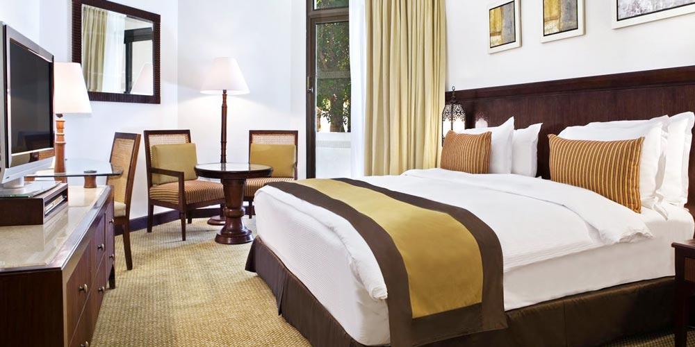 Bedroom of Hilton Luxor Resort - Trips in Eypt