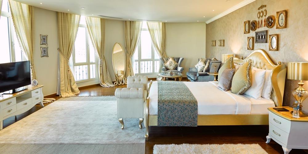 Bedroom of Kempinski Cairo - Trips in Egypt