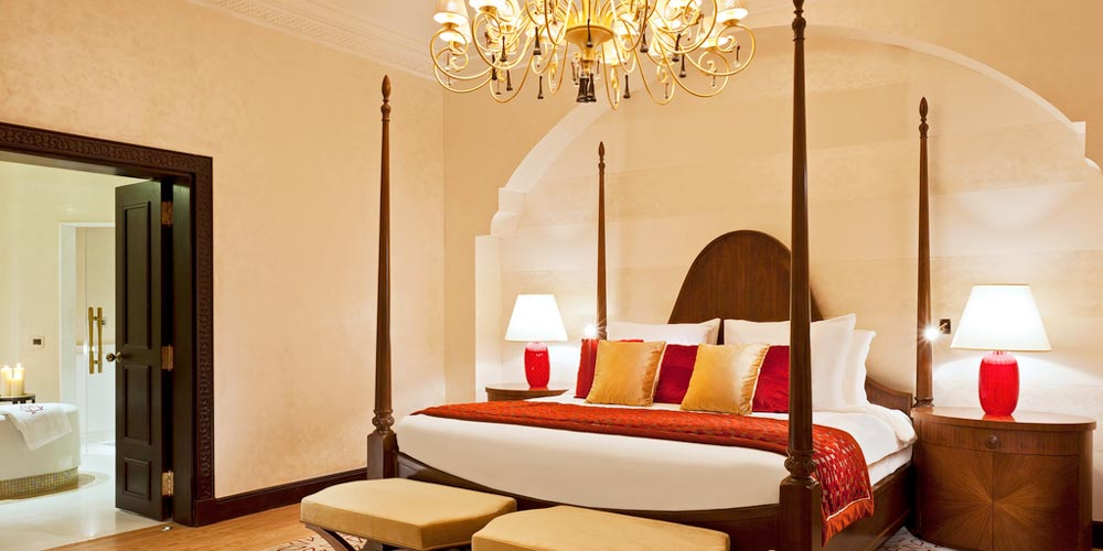 Bedroom of Sofitel Legend Old Cataract - Trips in Egypt