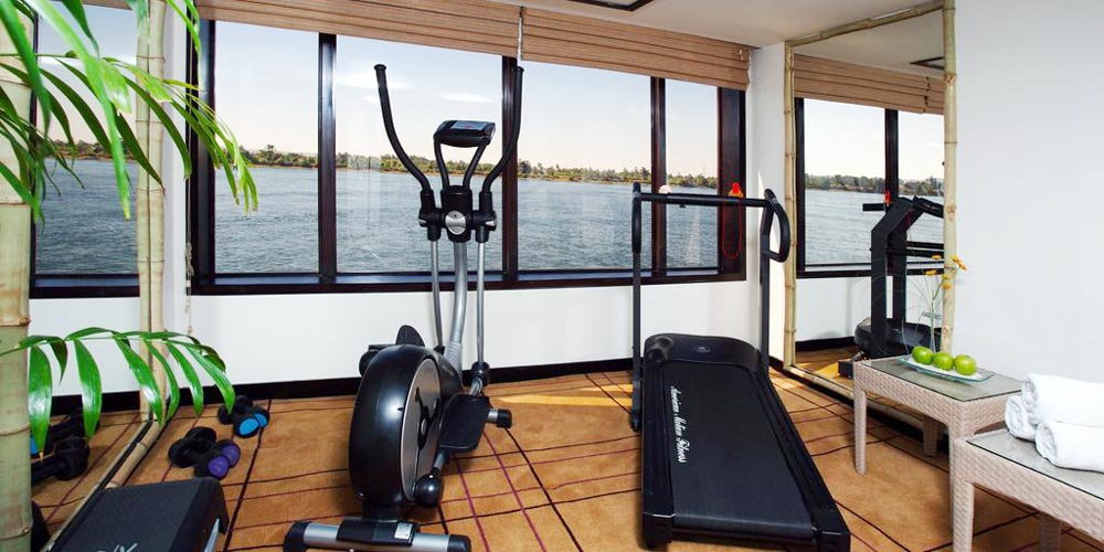 Gym Room of Mövenpick MS Royal Lily Nile Cruise - Trips in Egypt