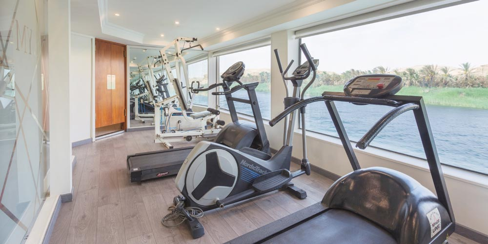 Gym Room of MS Acamar Nile Cruise - Trips in Egypt