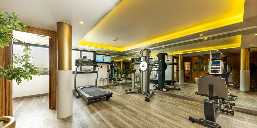Gym of MS Tulip Nile Cruise - Trips in Egypt