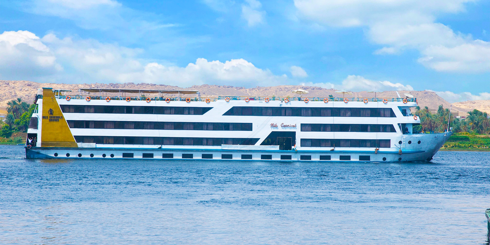 High Luxury Nile River Cruises - Trips in Egypt