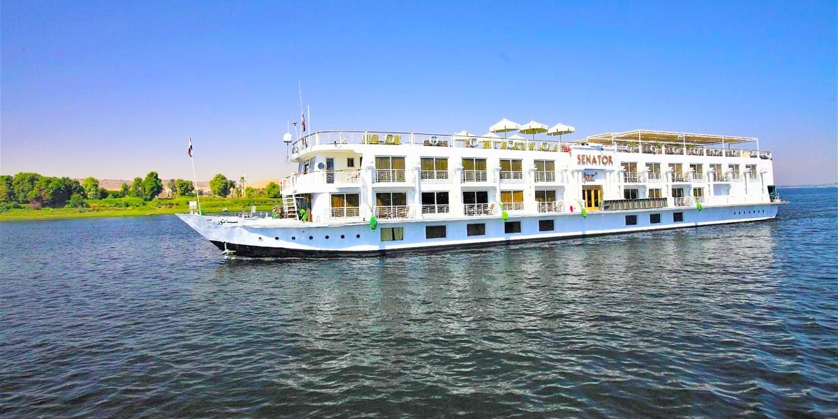 Jaz Senator Nile Cruise - Trips in Egypt