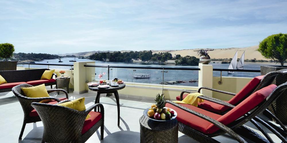 Nile View from Movenpick Aswan - Trips in Egypt