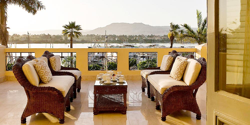Nile View from Sofitel Winter Palace - Trips in Egypt