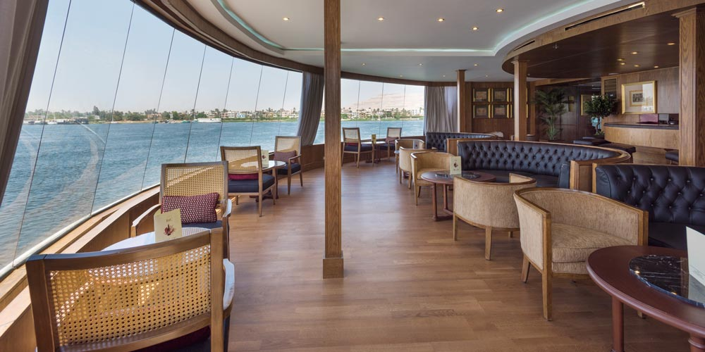 Panorama Bar of Steigenberger Regency Nile Cruise - Trips in Egypt