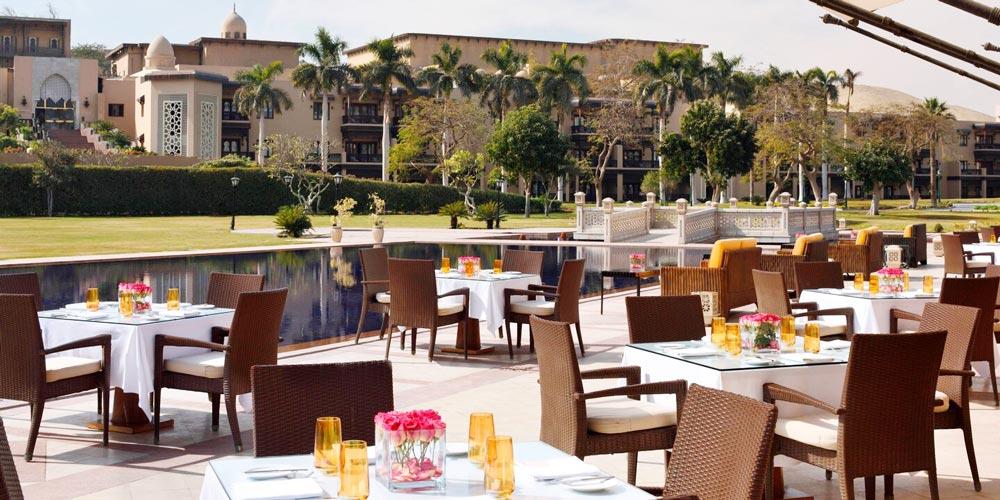 Restaurant of Marriott Mena House - Trips in Egypt