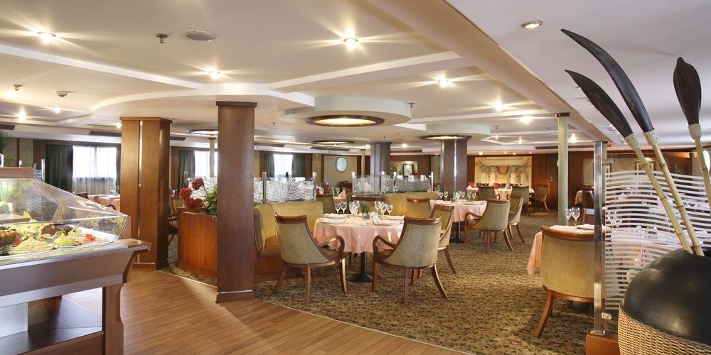 Restaurant of Sonesta Star Goddess Nile Cruise - Trips in Egypt