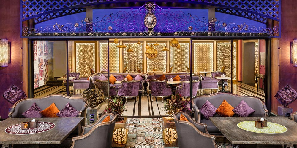 Resturant of Fairmont Nile - Trips in Egypt