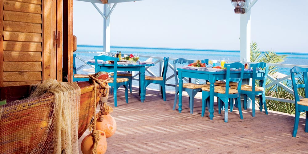 Resturant of Movenpick El Gouna - Trips in Egypt