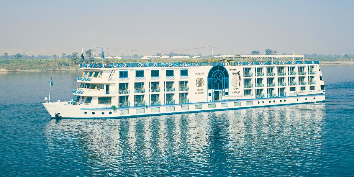Sonesta Moon Goddess Nile Cruise - Trips in Egypt