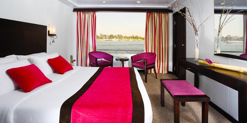 Standard Cabin of Mövenpick MS Royal Lily Nile Cruise - Trips in Egypt