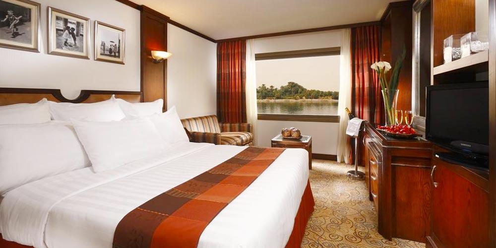 Standard Cabin of Sonesta Nile Goddess Nile Cruise - Trips in Egypt