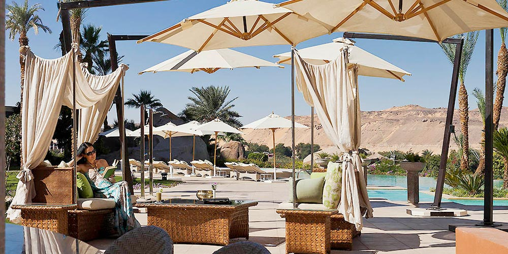 Sun Decks & Poll of Sofitel Legend Old Cataract - Trips in Egypt