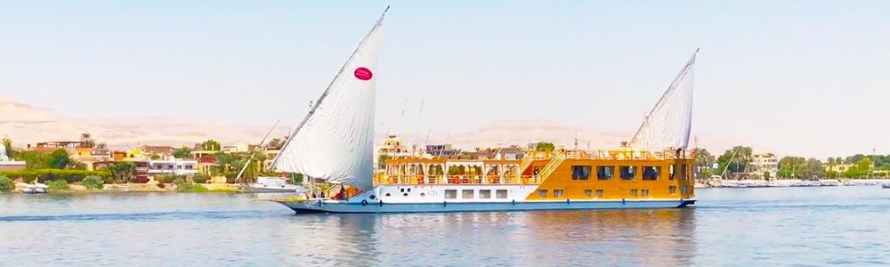 5 Days Aida Dahabiya Nile Cruise from Luxor - Trips in Egypt