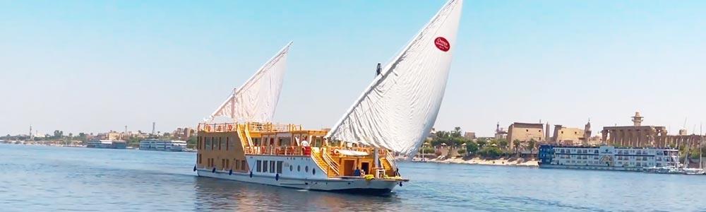 6 Days Aida Dahabiya Nile Cruise from Luxor Include Gebel El-Silsila Tour - Trips in Egypt