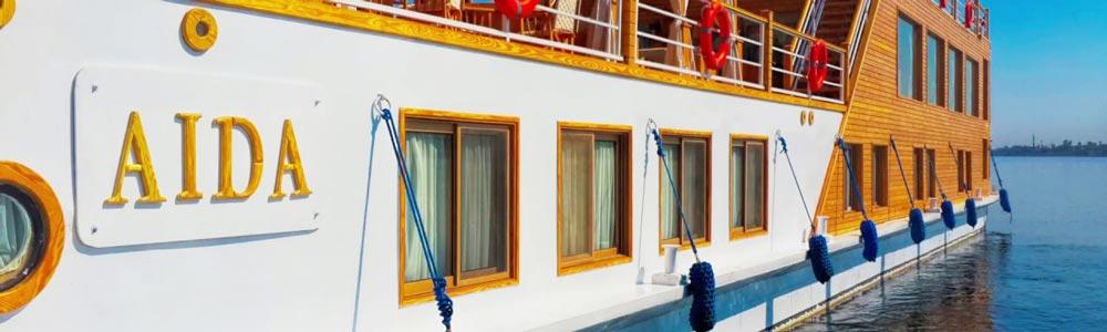 6 Days Aida Dahabiya Nile Cruise from Luxor - Trips in Egypt