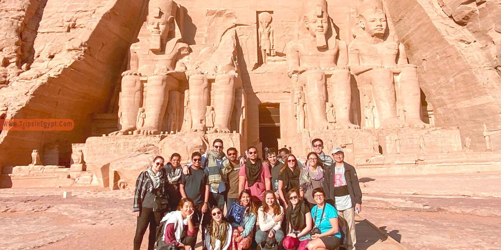 Abu Simbel Temple - Plan A Vacation to Egypt with Your Friends - Trips in Egypt