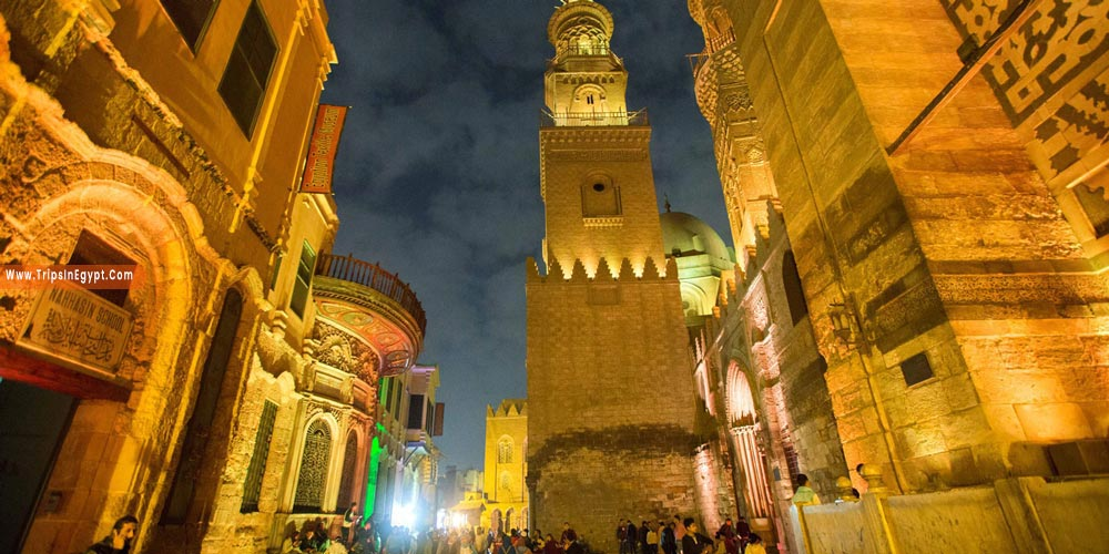 El Moez Street at Night - Things to Do in Cairo at Night - Trips in Egypt