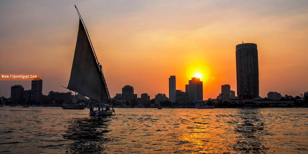 Felucca in Cairo at Night - Things to Do in Cairo at Night - Trips in Egypt