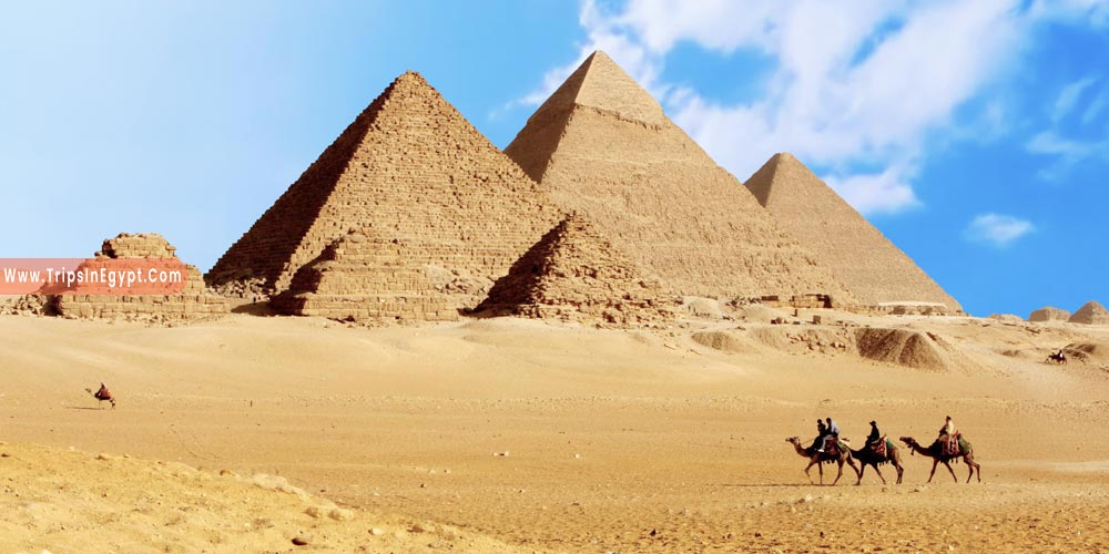 Giza Pyramids - Reasons to Visit Egypt - Trips in Egypt