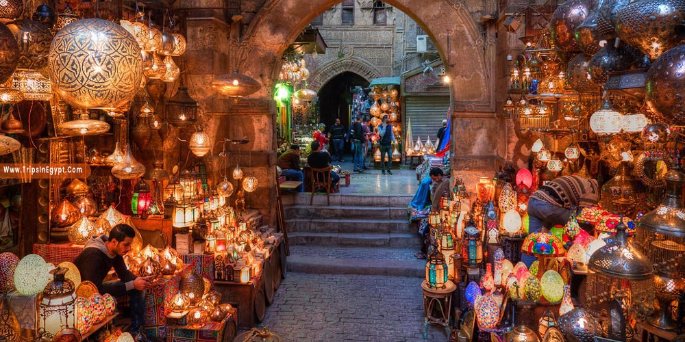 Khan El Khalili at Night - Things to Do in Cairo at Night - Trips in Egypt