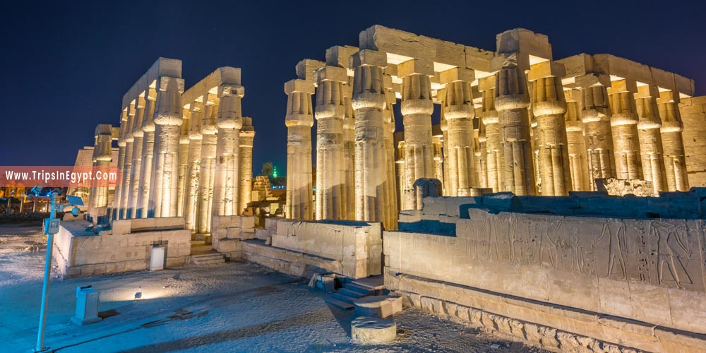 Luxor Temple at Night - Things to Do in Luxor at Night - Trips in Egypt