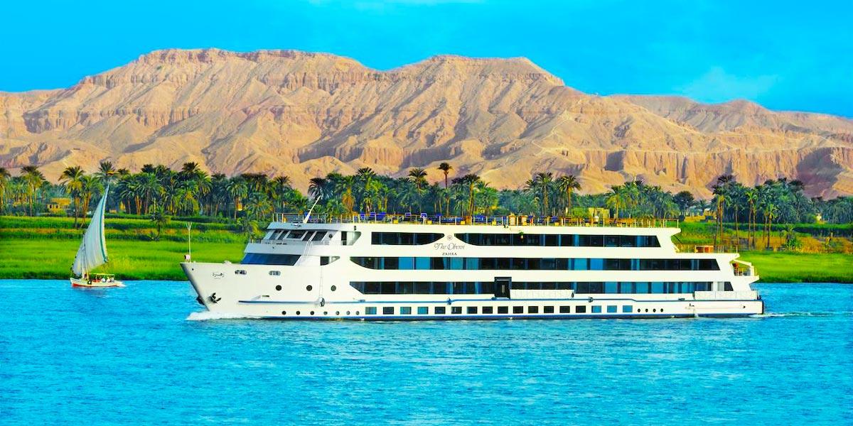 Oberoi Zahra Nile Cruise - Trips in Egypt