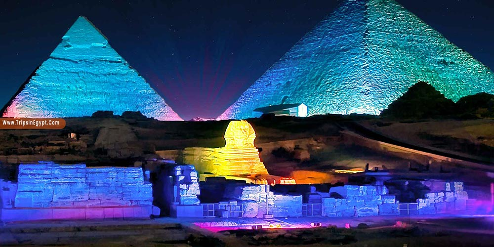 Sound & Light Show at Giza Pyramids - Things to Do in Cairo at Night - Trips in Egypt