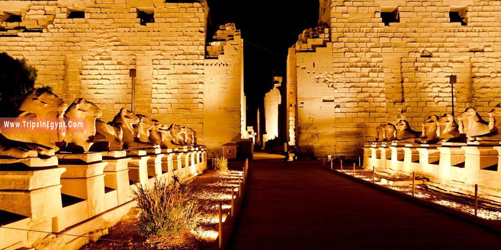 Sound and Light Show Karnak Temple - Things to Do in Luxor at Night - Trips in Egypt