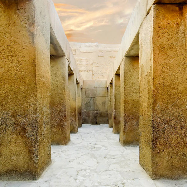 The Valley Temple of Khafre - Trips in Egypt