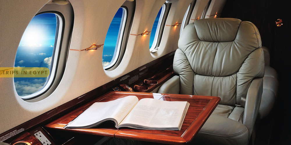 Flight Class - How to Enjoy a Luxury Holiday in Egypt - Trips in Egypt