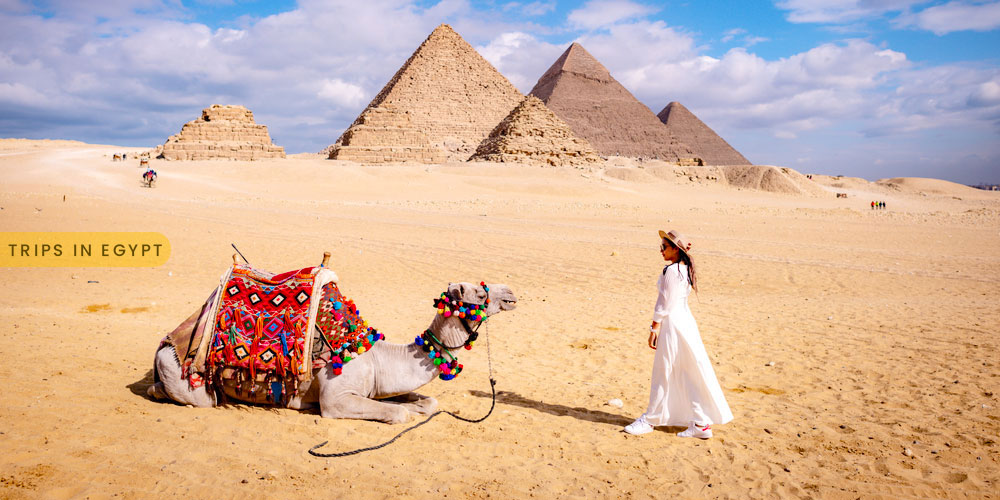 Giza Pyramids - How to Enjoy a Luxury Holiday in Egypt - Trips in Egypt