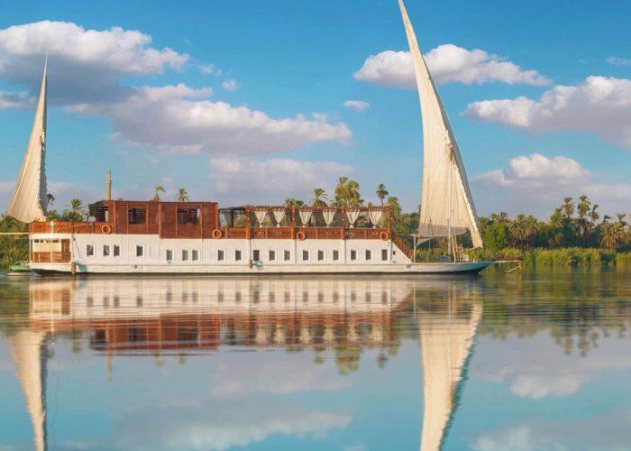 dahabiya nile cruise - trips in egypt